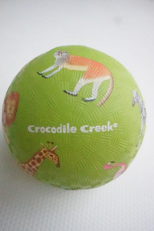 【口コミ】地味にすごい!オーボール卒業後におすすめ。あかちゃん用ゴムボール「クロコダイルクリーク」がおすすめな理由。