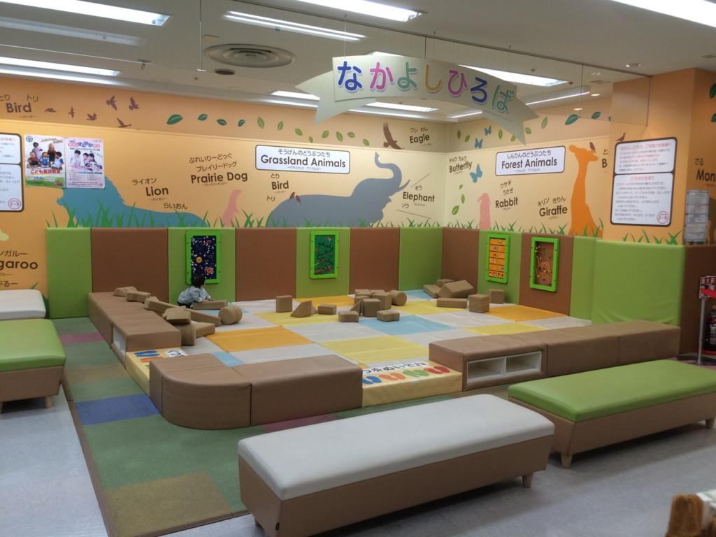 雨でもOK!埼玉県上尾駅周辺にある、屋外と屋内の無料の遊び場を紹介するよ!
