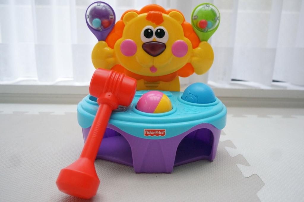 【動画あり】1歳に最適な叩くおもちゃ「ハンマートイ」がおすすめだよ♪