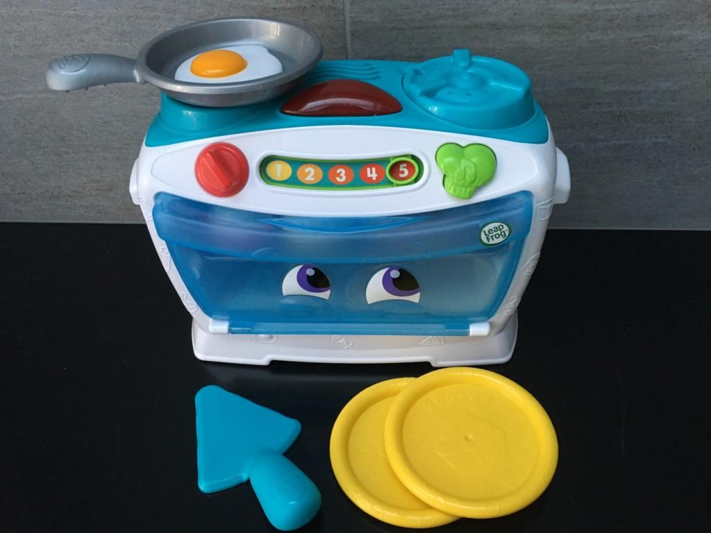 1度遊んでみて!男の子にもお勧めの、オーブンのおままごとセットで英語を覚えよう♪