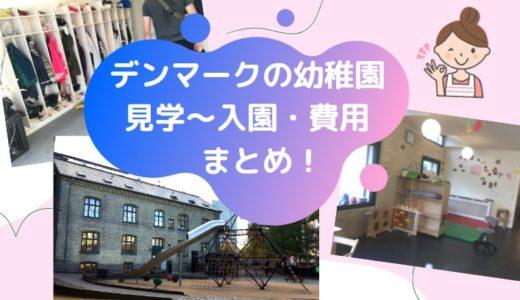 【北欧生活】4歳息子のためのデンマークの幼稚園(英語使用)の見学~入園申し込み・費用まとめ!